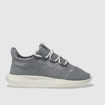Adidas Grey Tubular Shadow Unisex Junior