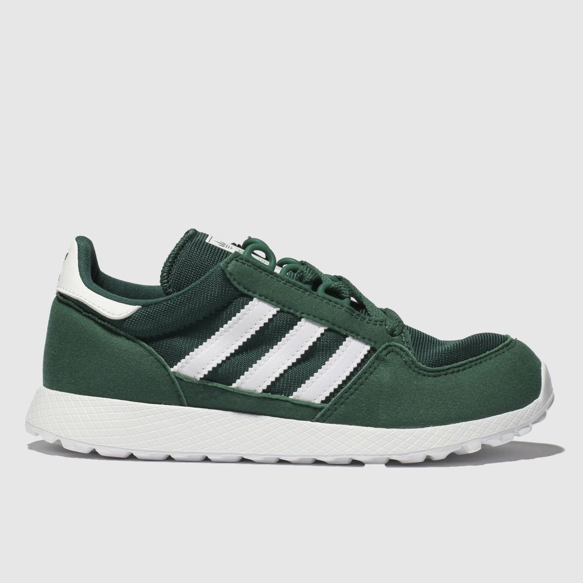 Adidas Green Forest Grove Trainers Junior