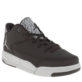 Nike Jordan Black & Silver Flight Origin 3 Unisex Junior