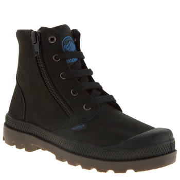 Palladium Black Pampa Hi Unisex Junior