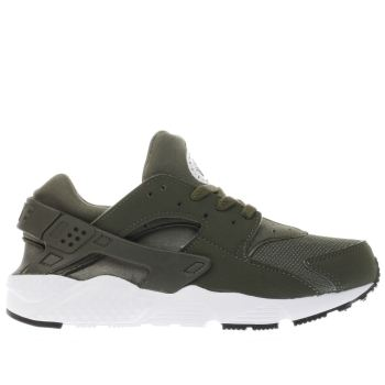Nike Khaki Huarache Run Unisex Junior