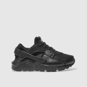 Nike Black Huarache Run Unisex Junior
