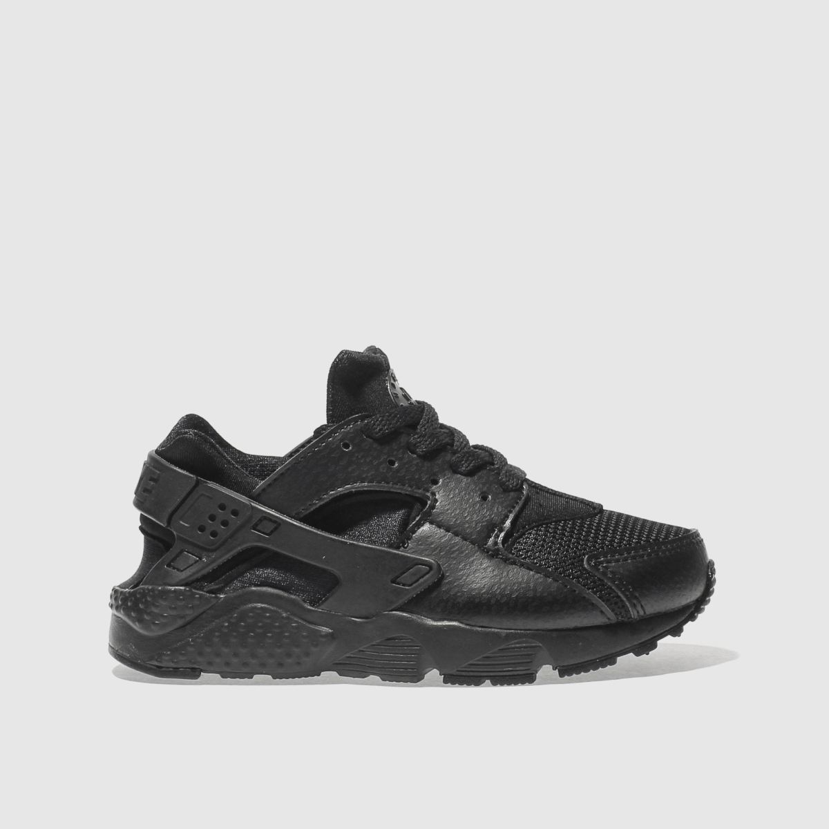 nike black huarache run Junior Trainers