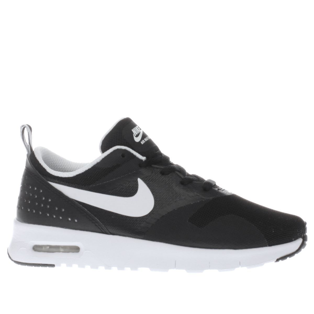 nike black & white air max tavas Junior Trainers