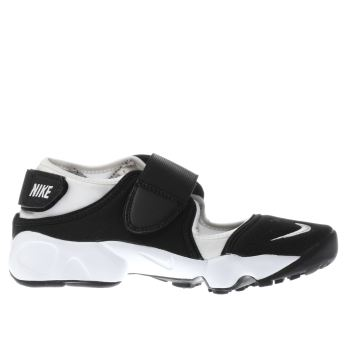 Nike White & Black Rift Unisex Junior