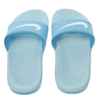 Nike Blue Kawa Slide Unisex Junior