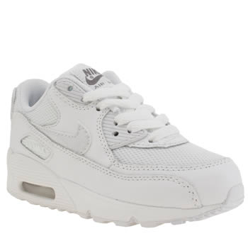 Nike White Air Max 90 Mesh Unisex Junior