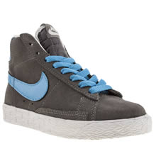 Junior Grey Nike Blazer Mid Vintage