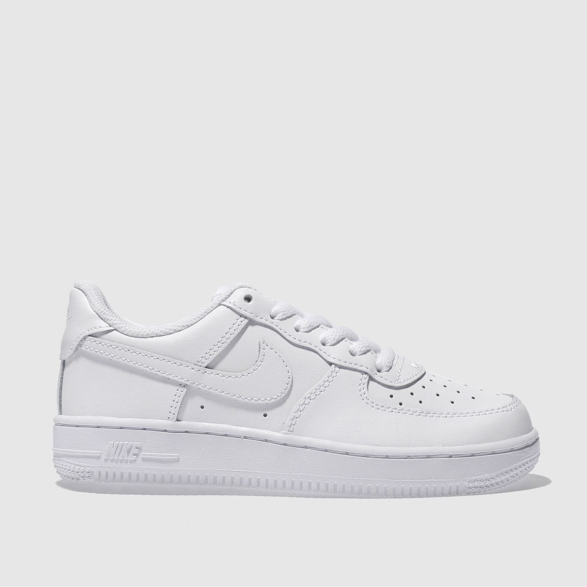 nike white air force 1 Boys Junior Trainers