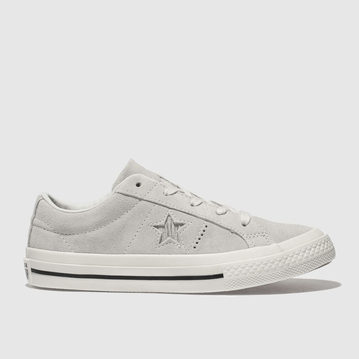 Converse Beige One Star Ox Trainers Junior