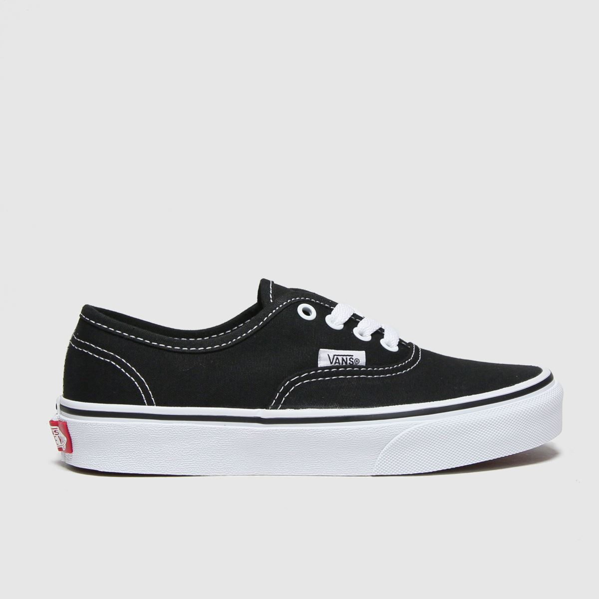 Vans Black & White Authentic Unisex Junior Junior
