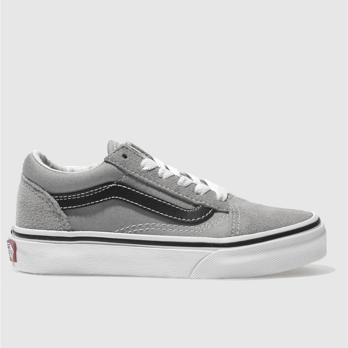 Vans Grey & Black Old Skool Unisex Junior Junior