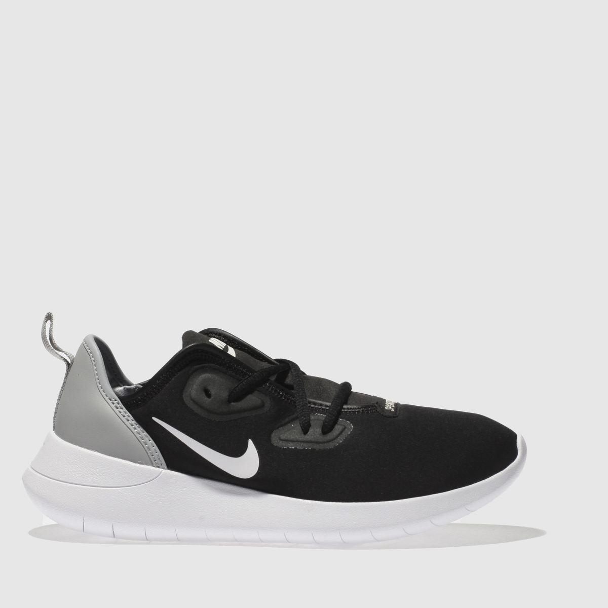 Nike Black & Grey Hakata Junior Trainers