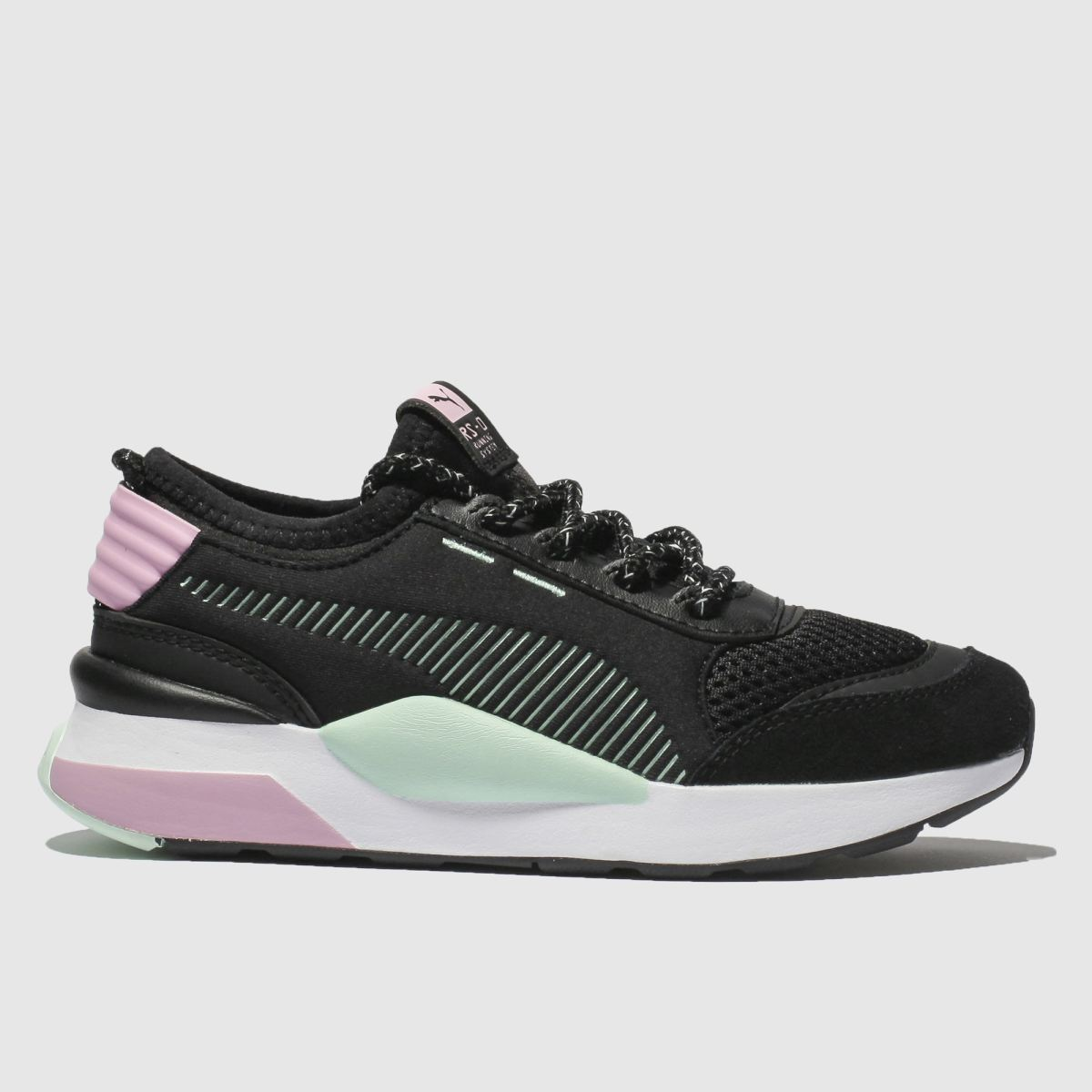 Puma Black & Pink Rs-0 Wtr Inj Toys Trainers Junior