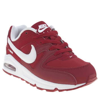 Unisex Nike Red Air Max Command Unisex Junior