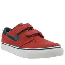 Nike Sb Red Stefan Janoski Unisex Junior