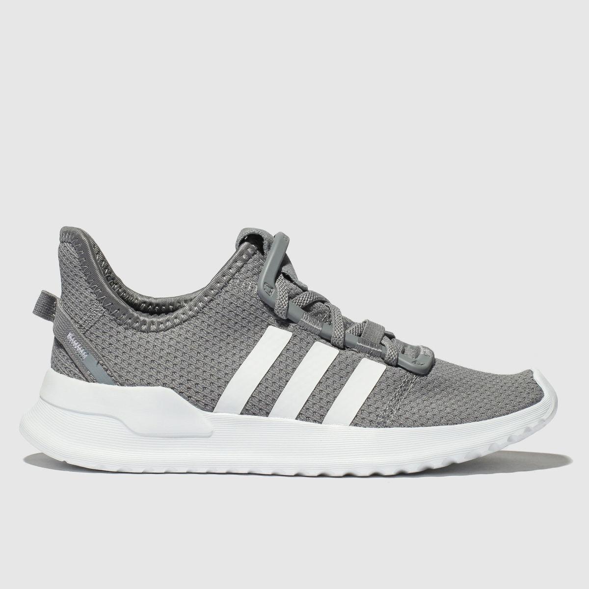 Adidas Grey U_path Run Trainers Junior