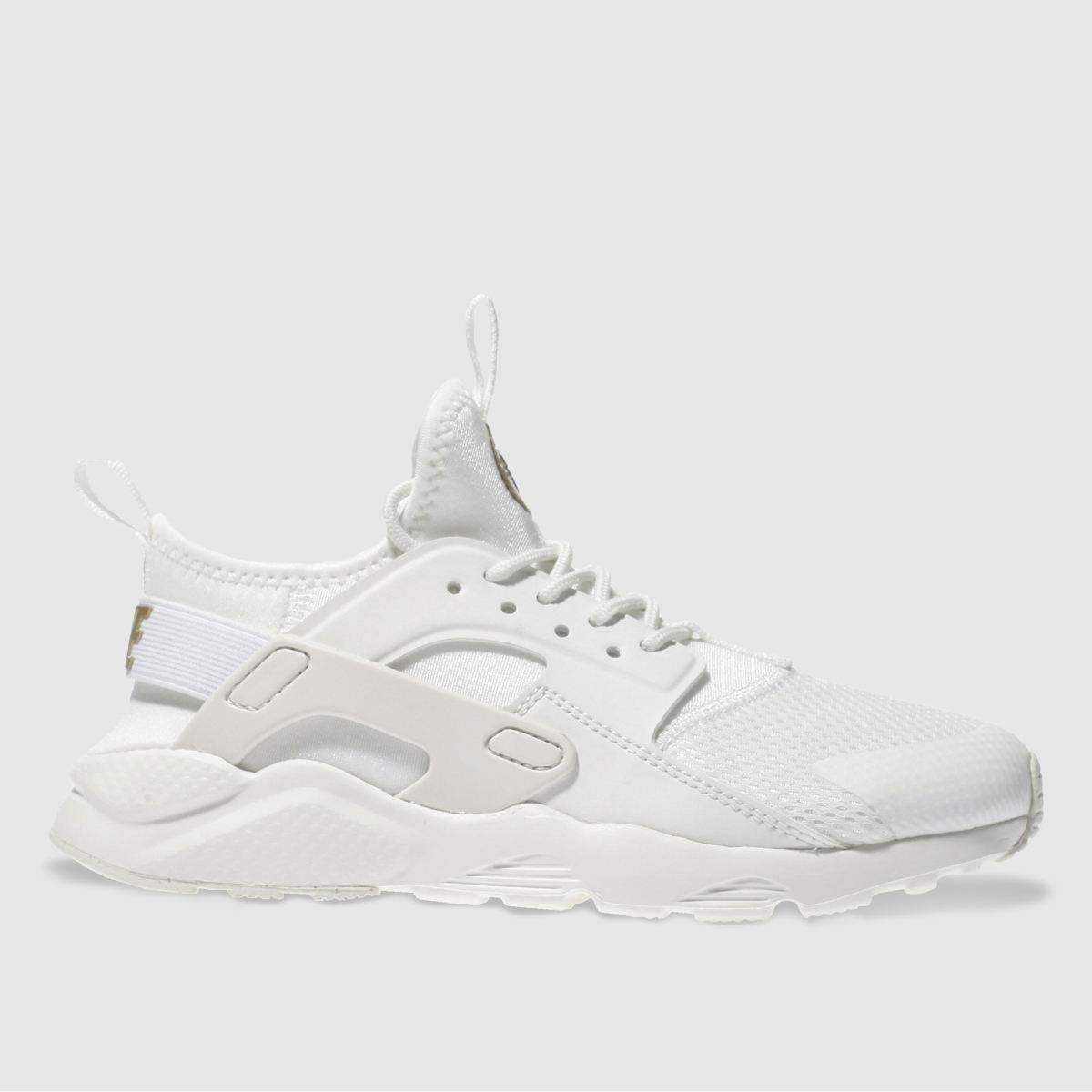 nike white & gold huarache ultra Junior Trainers