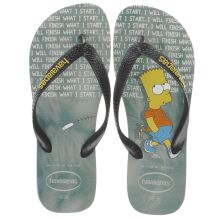 Havaianas Black & Green Simpsons Unisex Junior