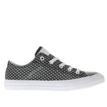 Converse Black & White Chuck Taylor Ii Ox Unisex Junior