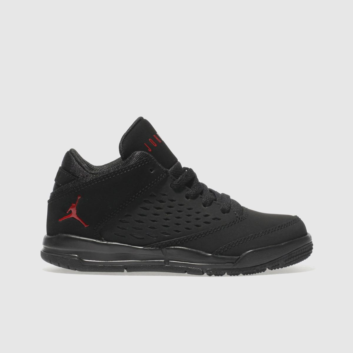 Nike Jordan Black & Red Flight Origin 4 Junior Trainers
