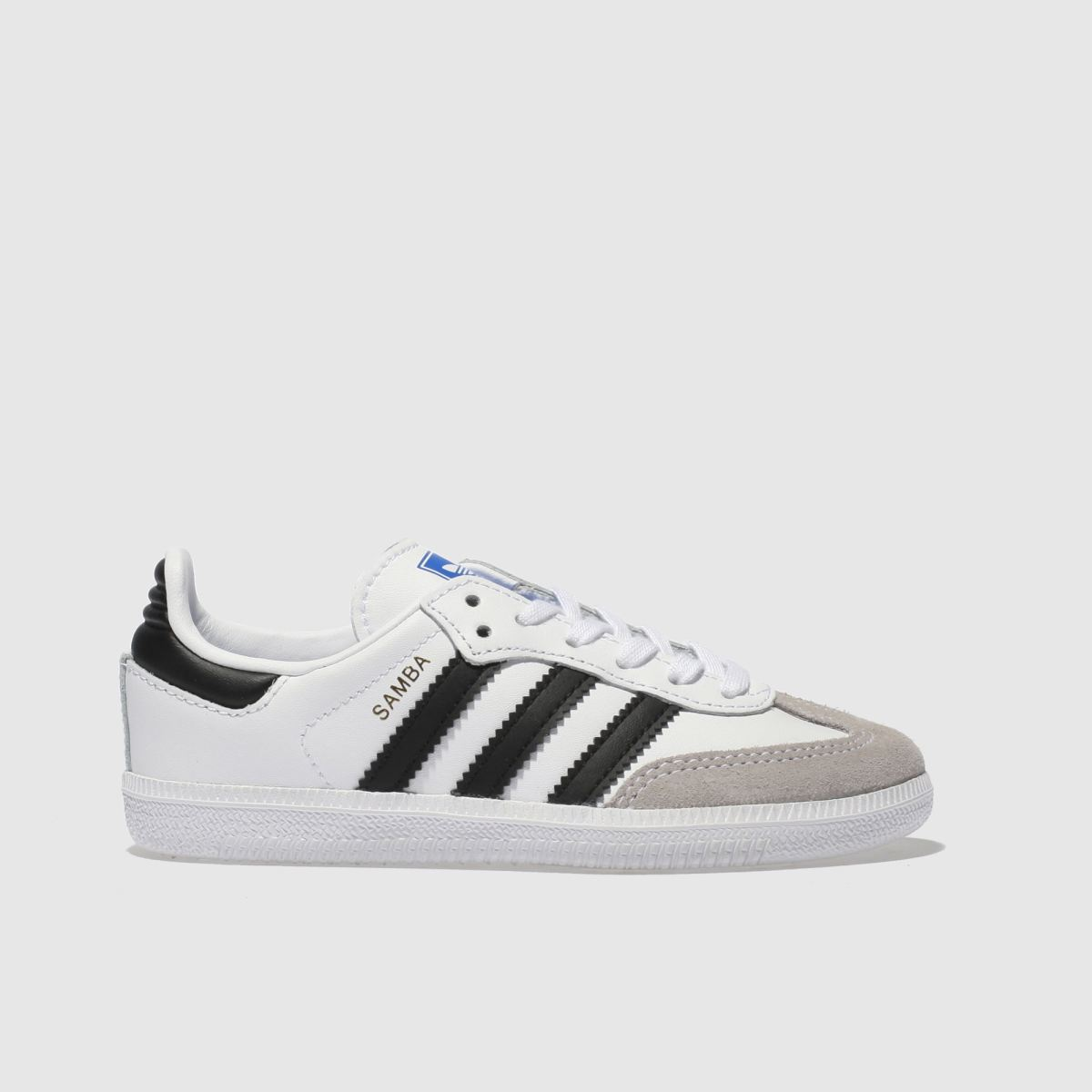 Adidas White & Black Samba Og Unisex Junior Junior