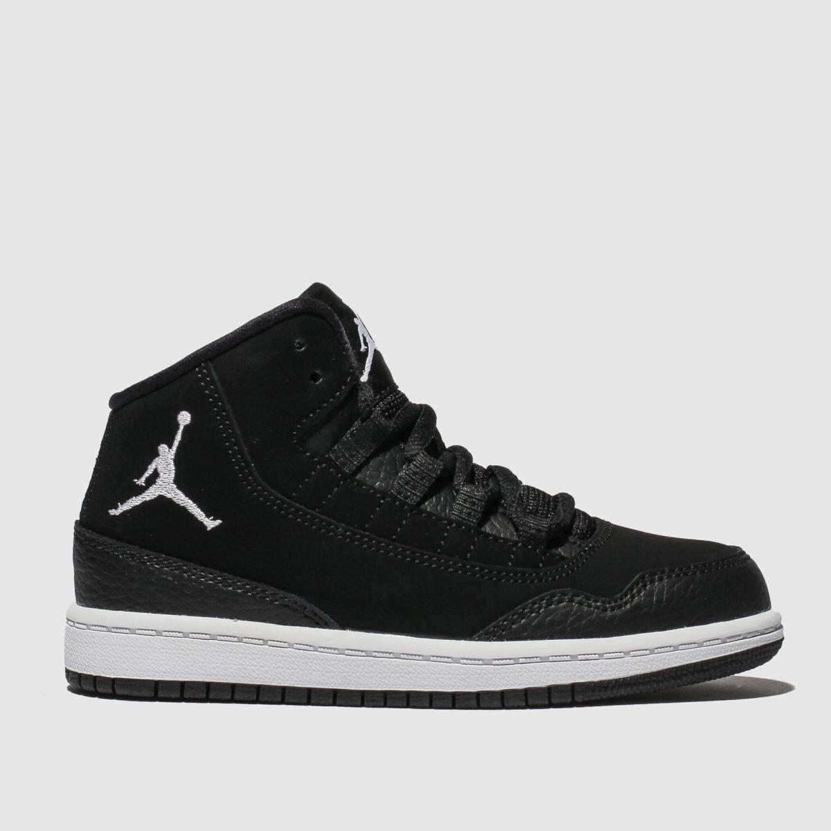 Nike Jordan Black & White Executive Trainers Junior