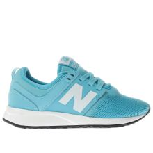 New Balance Turquoise 247 Unisex Junior