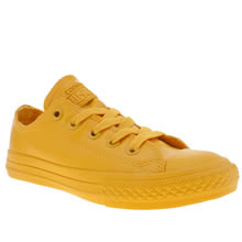 Converse Yellow All Star Rubber Ox Unisex Junior