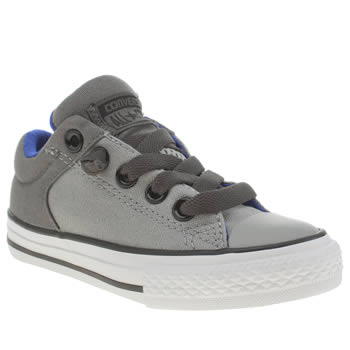 Converse Grey All Star High Street Unisex Junior