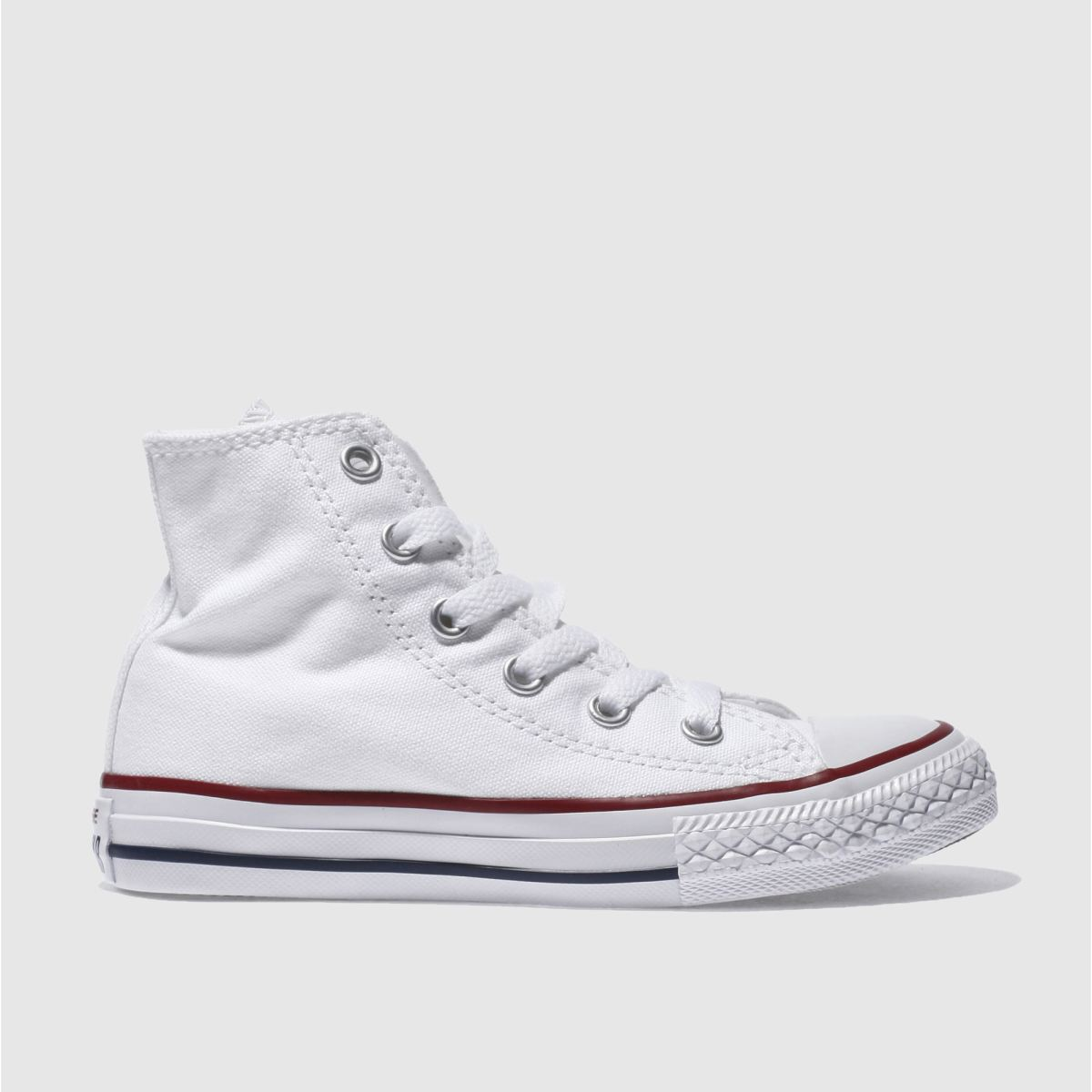 converse white all star hi Boys Junior Trainers