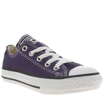 Converse Purple All Star Oxford Unisex Junior