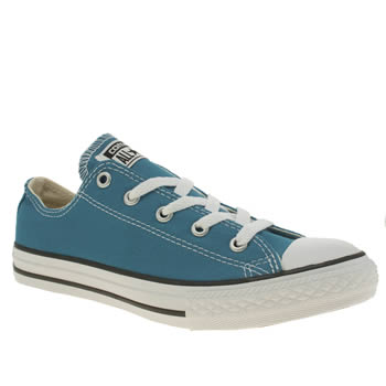 Converse Blue All Star Ox Unisex Junior