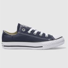 Junior Navy Converse All Star Lo