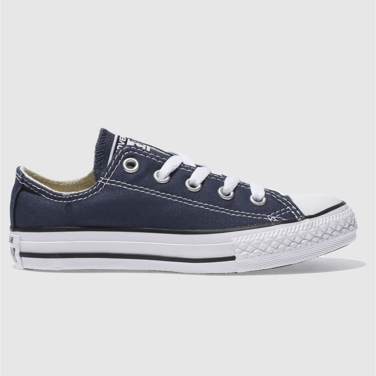 Converse Navy All Star Lo Trainers Junior