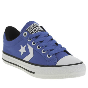 Unisex Converse Blue Star Player Unisex Junior