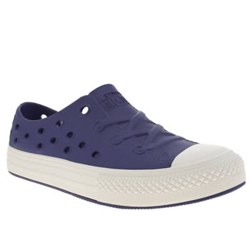 Unisex Converse Blue All Star Rockaway Unisex Junior