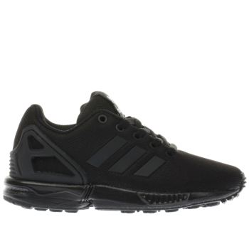 black adidas trainers kids
