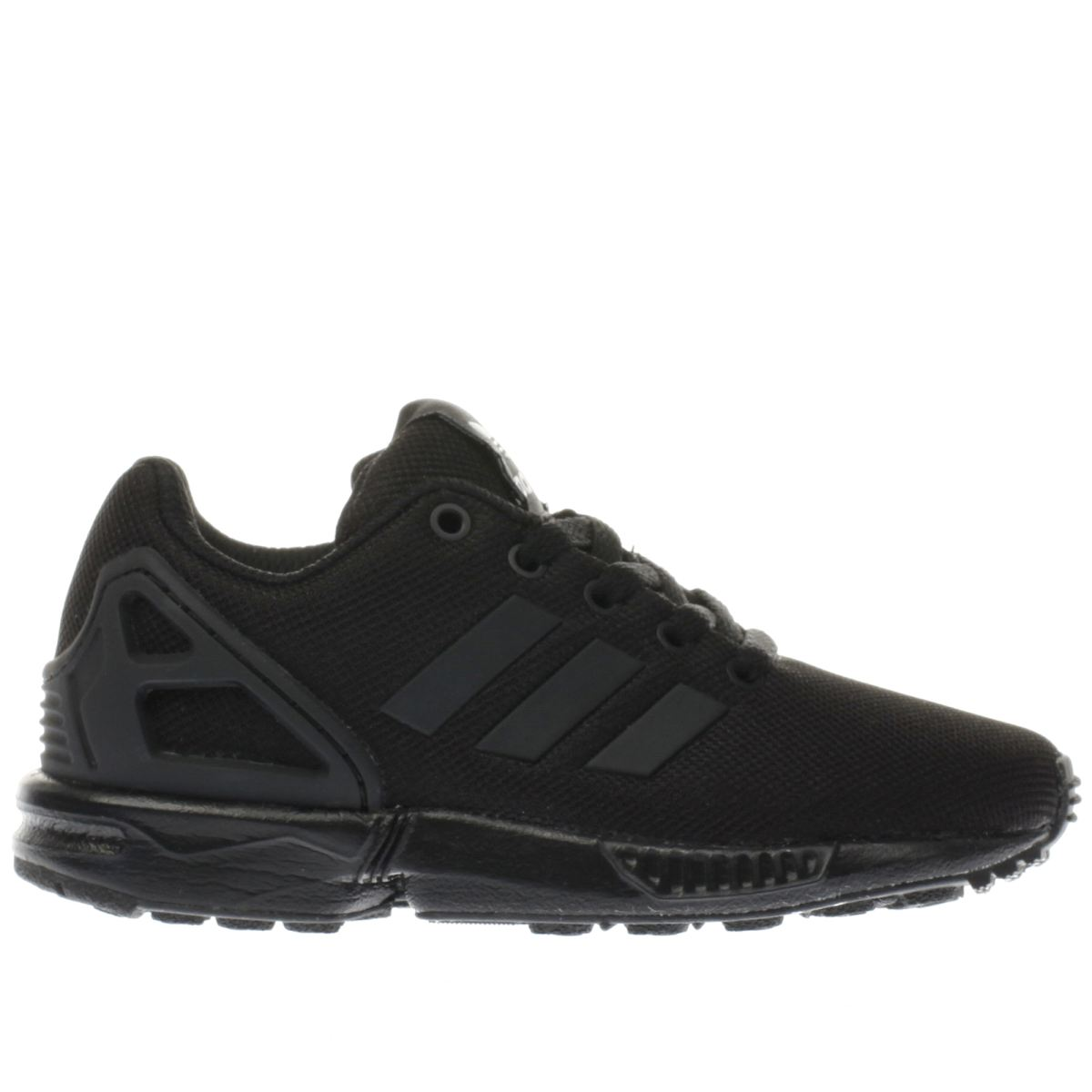 adidas black zx flux Boys Junior Trainers