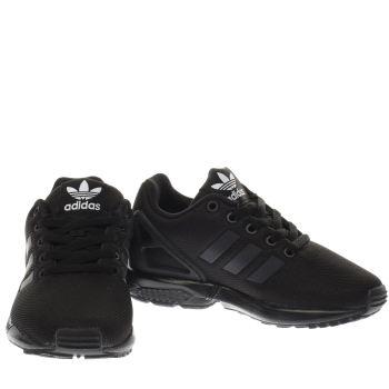 boys adidas black trainers