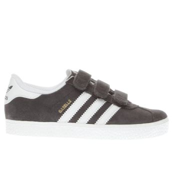 Adidas Dark Grey Gazelle 2 Unisex Junior