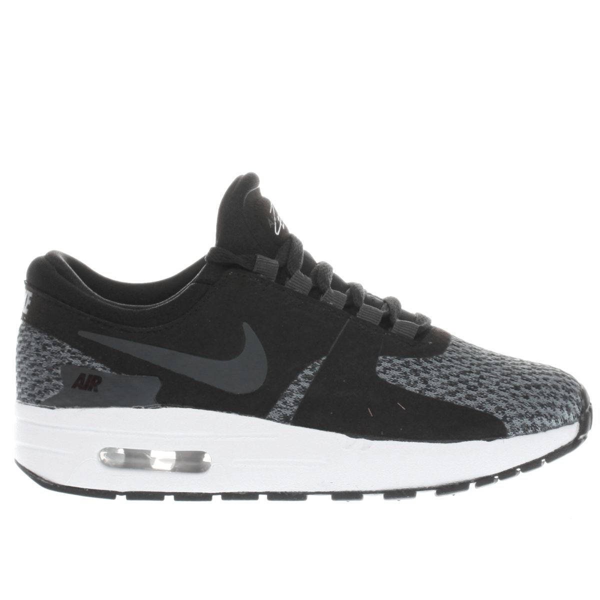 nike black & grey air max zero Junior Trainers