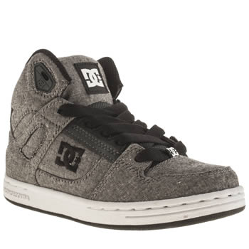 Dc Shoes Dark Grey Rebound Tx Se Unisex Junior