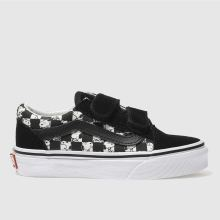 Vans Black & White Old Skool Peanuts Snoopy Unisex Junior