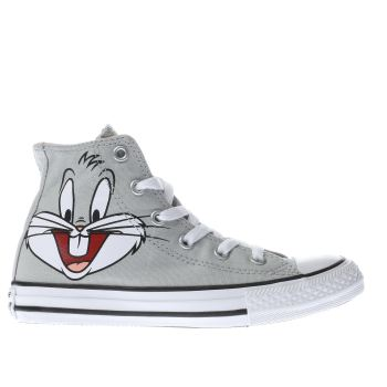 Converse Grey Looney Tunes Bugs Bunny Unisex Junior