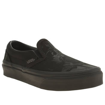 Vans Black Classic Slip-on Star Wars Unisex Junior