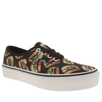 VANS MULTI AUTHENTIC LATE NIGHT JUNIOR TRAINERS
