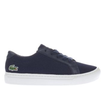 Lacoste Navy L-12-12 Unisex Junior