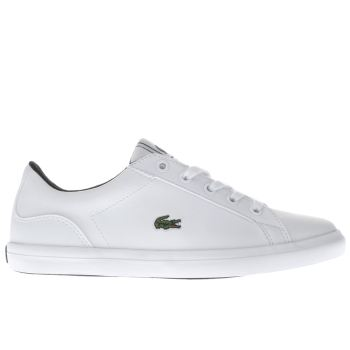 Lacoste White Lerond Unisex Junior