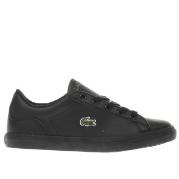 Lacoste Black Lerond Unisex Junior